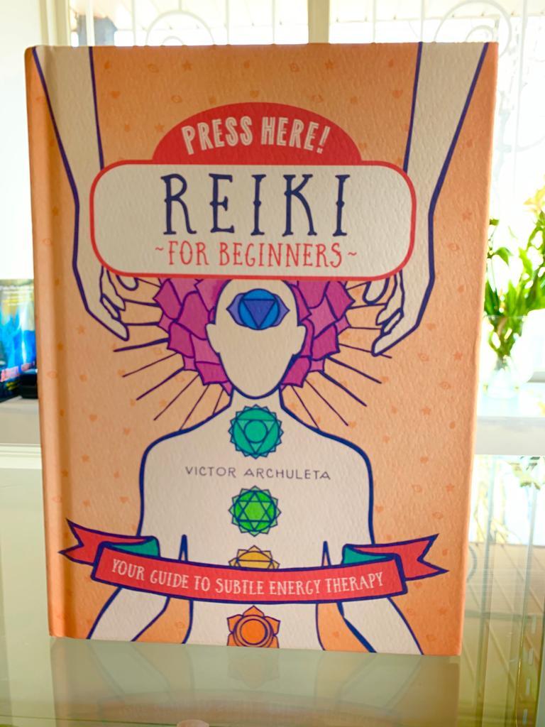 Reiki Healing book at Crystal Garden metaphysical store