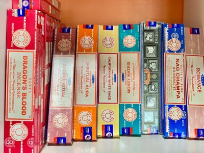 Incense at Crystal Garden metaphysical store