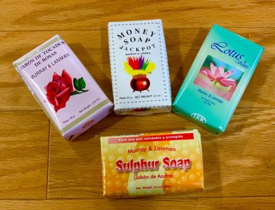 Soaps at Crystal Garden metaphysical store